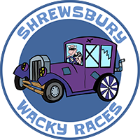 Shrewsbury Wacky Races Logo
